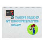 Boys Responsibility Wall Calendar