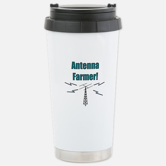 Antenna Farmer! Stainless Steel Travel Mug