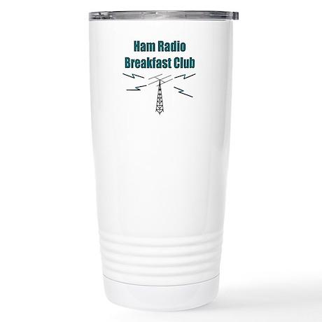 Ham Radio Breakfast Club Stainless Steel Travel Mu