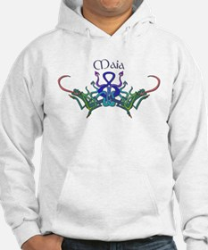 Maia's Celtic Dragons Name Hoodie