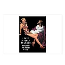 I Gave Myself To Jesus Postcards (Package of 8)