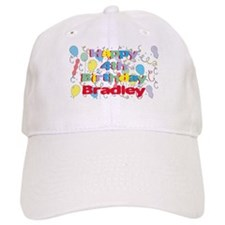 Bradley's 4th Birthday Baseball Cap