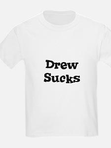 Drew Sucks Kids T-Shirt