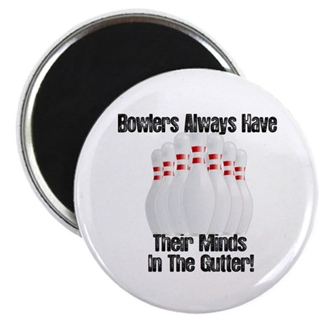 """Minds in the Gutter 2.25"""" Magnet (10 pack)"""