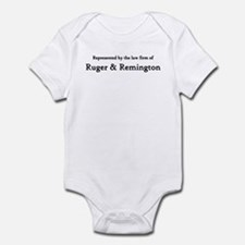 Law Firm of RUGER and REMINGTON Infant Bodysuit