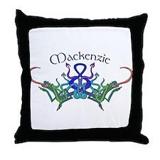 Mackenzie's Celtic Dragons Na Throw Pillow