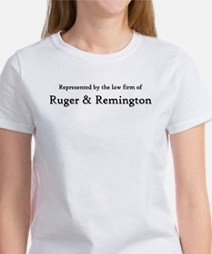 Law Firm of RUGER and REMINGTON Women's T-Shirt
