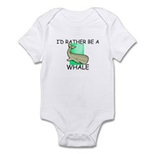 I'd Rather Be A Whale Infant Bodysuit