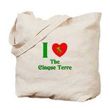I Love the Cinque Terre Tote Bag
