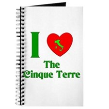 I Love the Cinque Terre Journal