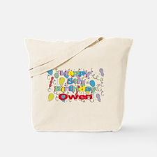 Owen's 5th Birthday Tote Bag
