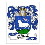 Gaillard Family Crest Small Poster