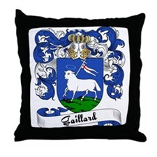Gaillard Family Crest Throw Pillow
