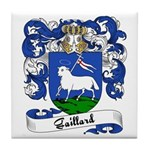 Gaillard Family Crest Tile Coaster
