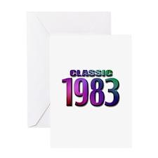 classic 1983 Greeting Card