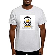 """""""Naked!"""" Ash Grey T-Shirt"""