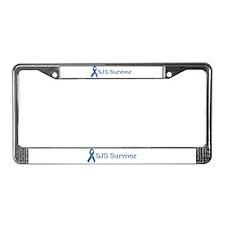 SJS Survivor License Plate Frame