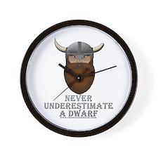 Never Underestimate a Dwarf Wall Clock