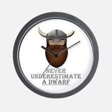 Never Underestimate a Dwarf Wall Clock