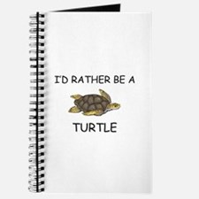 I'd Rather Be A Turtle Journal