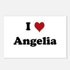 I love Angelia Postcards (Package of 8)