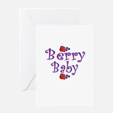 Berry Baby Greeting Card