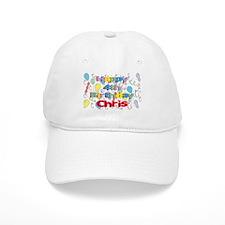 Chris's 4th Birthday Baseball Cap