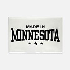 Made in Minnesota Rectangle Magnet