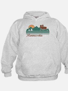 Minnesota Moose Hoodie