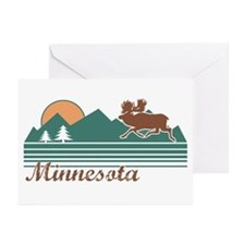 Minnesota Moose Greeting Cards (Pk of 10)