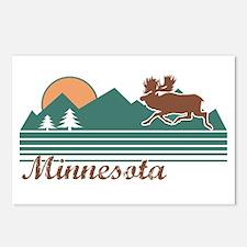 Minnesota Moose Postcards (Package of 8)