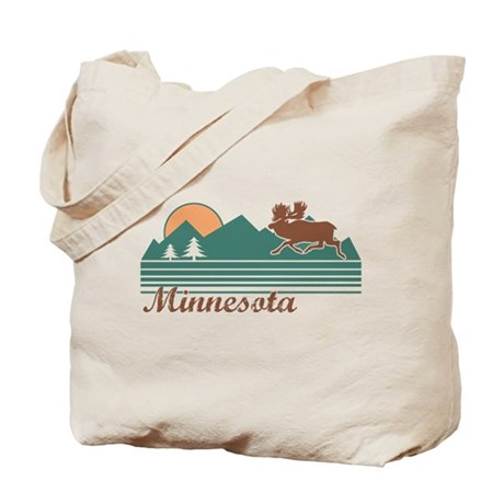 Minnesota Moose Tote Bag