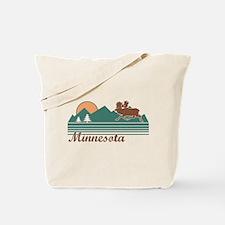 Minnesota Moose Tote Bag