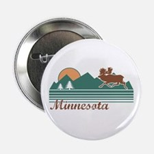 "Minnesota Moose 2.25"" Button"