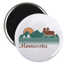 Minnesota Moose Magnet