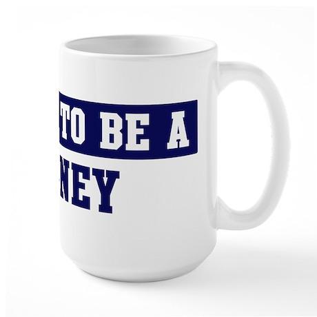 Proud to be Haney Large Mug