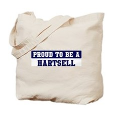 Proud to be Hartsell Tote Bag