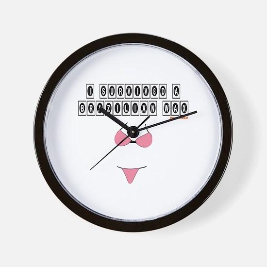 Brazilian Wax Wall Clock