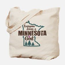 Minnesota Girl Tote Bag