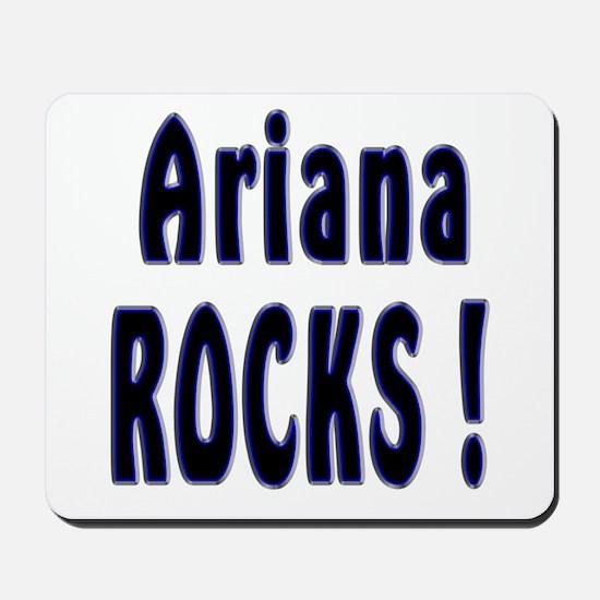 Ariana Rocks ! Mousepad