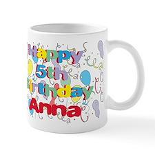 Anna's 5th Birthday Mug
