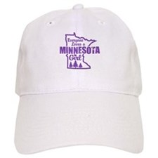 Minnesota Girl Baseball Cap