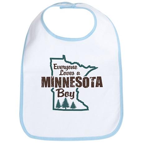 Minnesota Boy Bib