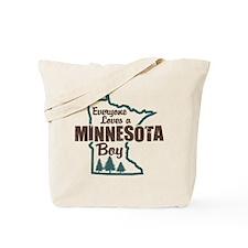 Minnesota Boy Tote Bag