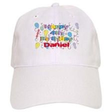 Daniel's 4th Birthday Baseball Cap