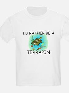 I'd Rather Be A Terrapin T-Shirt