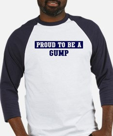 Proud to be Gump Baseball Jersey