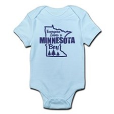 Minnesota Boy Infant Bodysuit