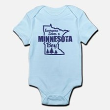 Minnesota Boy Infant Bodysuit