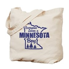 Minnesota Boy Tote Bag